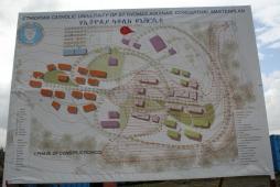 masterplan del complesso universitario