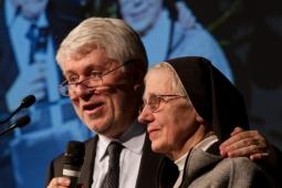 Graziano Debellini e Suor Lia Gianesello