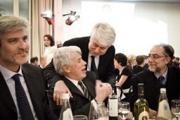 Giorgio Palmucci, Mario Malerba, Graziano Debellini e Oreste Romeo