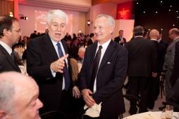 Aldo Napoli del Fondo Orizzonte alla Cena di Santa Lucia