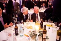 Andrea Monorchio vicepresidente Veneto Banca alla Cena di Santa Lucia 2012