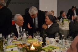 Cena Santa Lucia 2011: Antonio Finotti, Graziano Debellini e Suor Laura Girotto