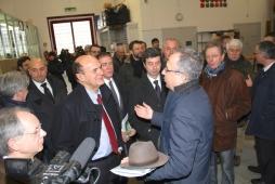 Bersani in visita al Carcere Due Palazzi di Padova