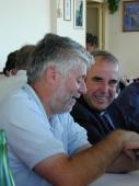 Graziano Debellini e don Giacomo Tantardini