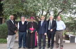 Incontro con l'arcivescovo metropolita della Chiesa Etiope Mons. Berhaneyesus Souraphiel
