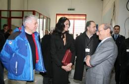 Visita al carcere Due Palazzi di Padova: Debellini con MG Cucinotta e il procuratore Calogero