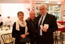 Cena Santa Lucia 2011:Giulia Teggia, Mons. Silvano Tommasi, Graziano Debellini
