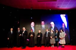 I rappresentanti dei progetti della Cena di Santa Lucia 2012