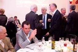 Marcello Cestaro Presidente del Calcio Padova e Gianni Potti Vicepres. Confindustria Padova