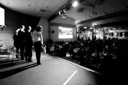 Cena Santa Lucia 2011:Testimonial con pubblico