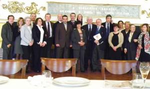 I rappresentanti del progetto Caritas Baby Hospital di Betlemme